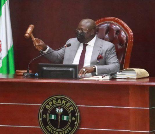 Rt. Hon. Sheriff Oborevwori, Delta House of Assembly Speaker.