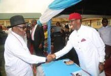 Governor Ifeanyi Okowa and his predecessor, Dr. Emmanuel Uduaghan.